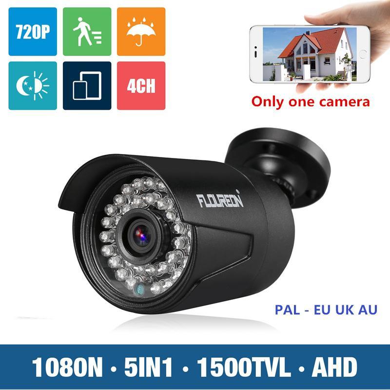 FLOUREON 1080P 2.0MP 3000TVL PAL Outdoor CCTV DVR Security Camera Night Vision
