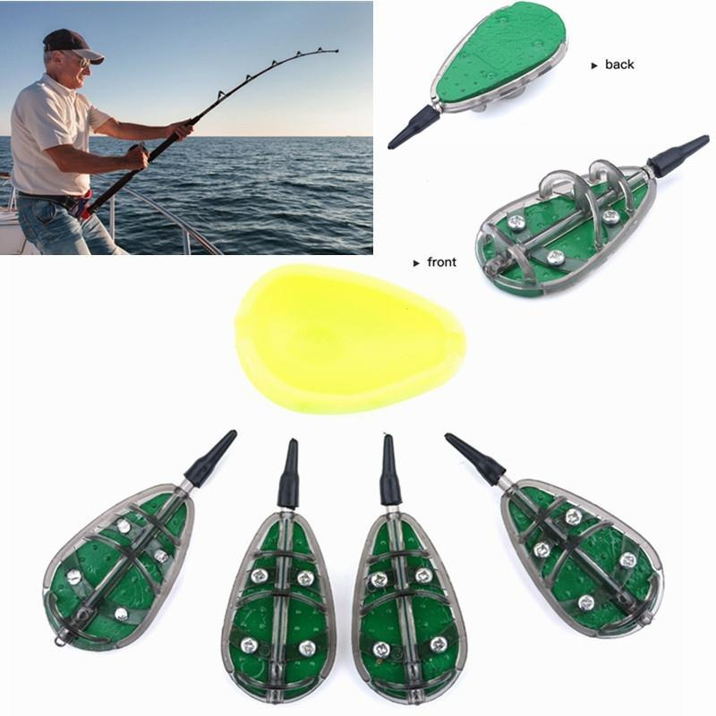 Quality Carp Fishing Feeder 40g//50g Inline Method Coarse Tackle Mould Set