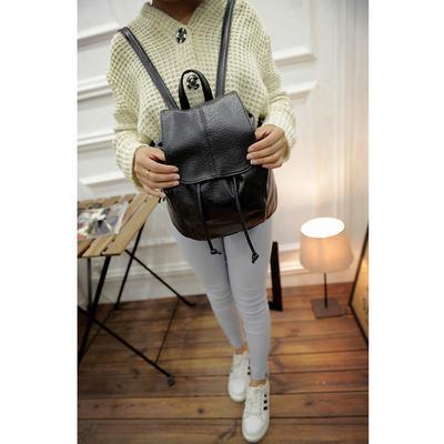 Fashion Leather School Bag Travel Cute Backpack Satchel Shoulder Rucksack