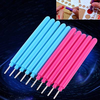 Healifty Hand-Operated Paper Quilling Crimper Slip Wave Shape DIY Making Tool Quilling Accessory Artwork Supplies Blue