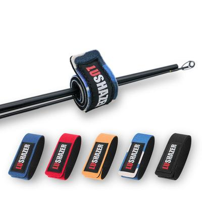Fishing Rod Band Fixing Tie Strap Holder Elastic Anti Slip Pole Belt Wrap Tools