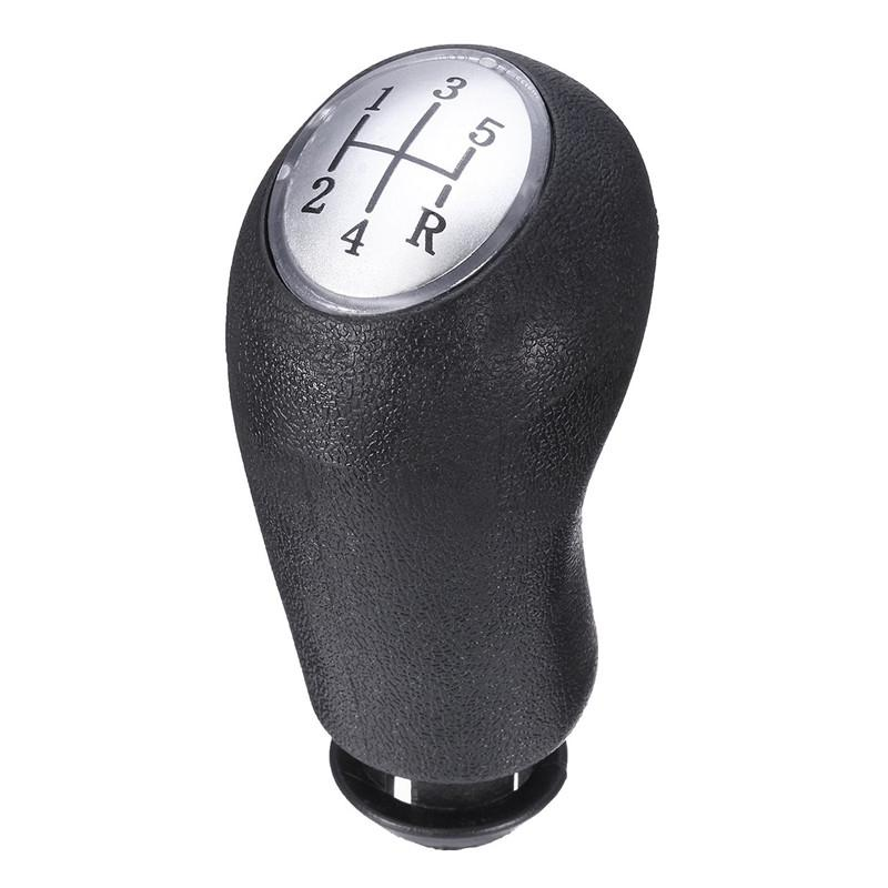 GEAR STICK KNOB BLACK WITH CHROME DETAIL FOR VAUXHALL ASTRA MK 3 III