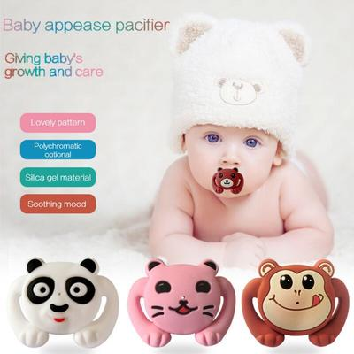 Feeding Baby Silicone Pacifier Cartoon Funny Nipple Dummy Pacifier Infant Baby Pacifier Care 1Pcs