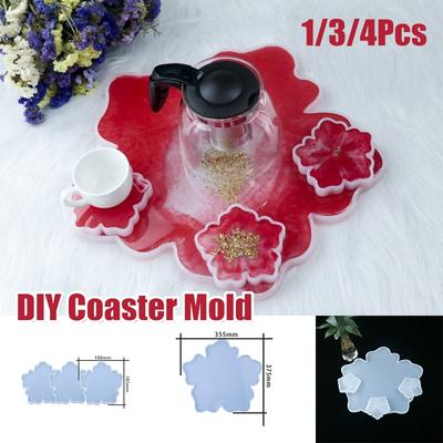 Petal 1 Silicone Resin Mold For Diy Jewelry Pendant Mould Handmade Craft Ti
