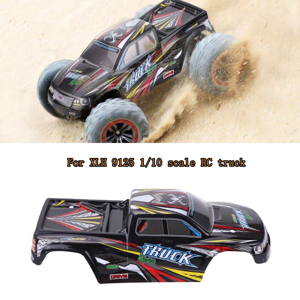 Cool RC Car Toy Body DIY Upgrades Parts for Xinlehong Toy Car Replacement