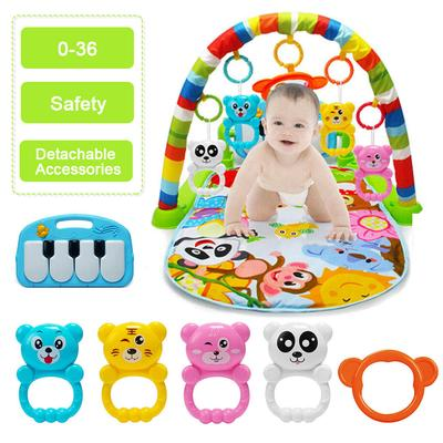 4 in 1 Fitness Music Baby Play Mat Lay and Kids Gym Playmat Fun Piano Boys Girls