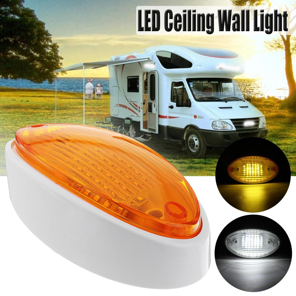 15 white  LED Strip Lights Caravan Boat Car RV Waterproof 12V