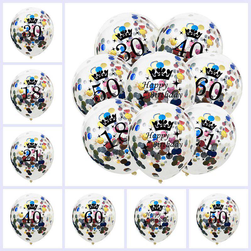 Надувные шарики 12-дюймовый латекса ясно рождения шары годовщину венчания украшение партии – купить по низким ценам в интернет-магазине Joom
