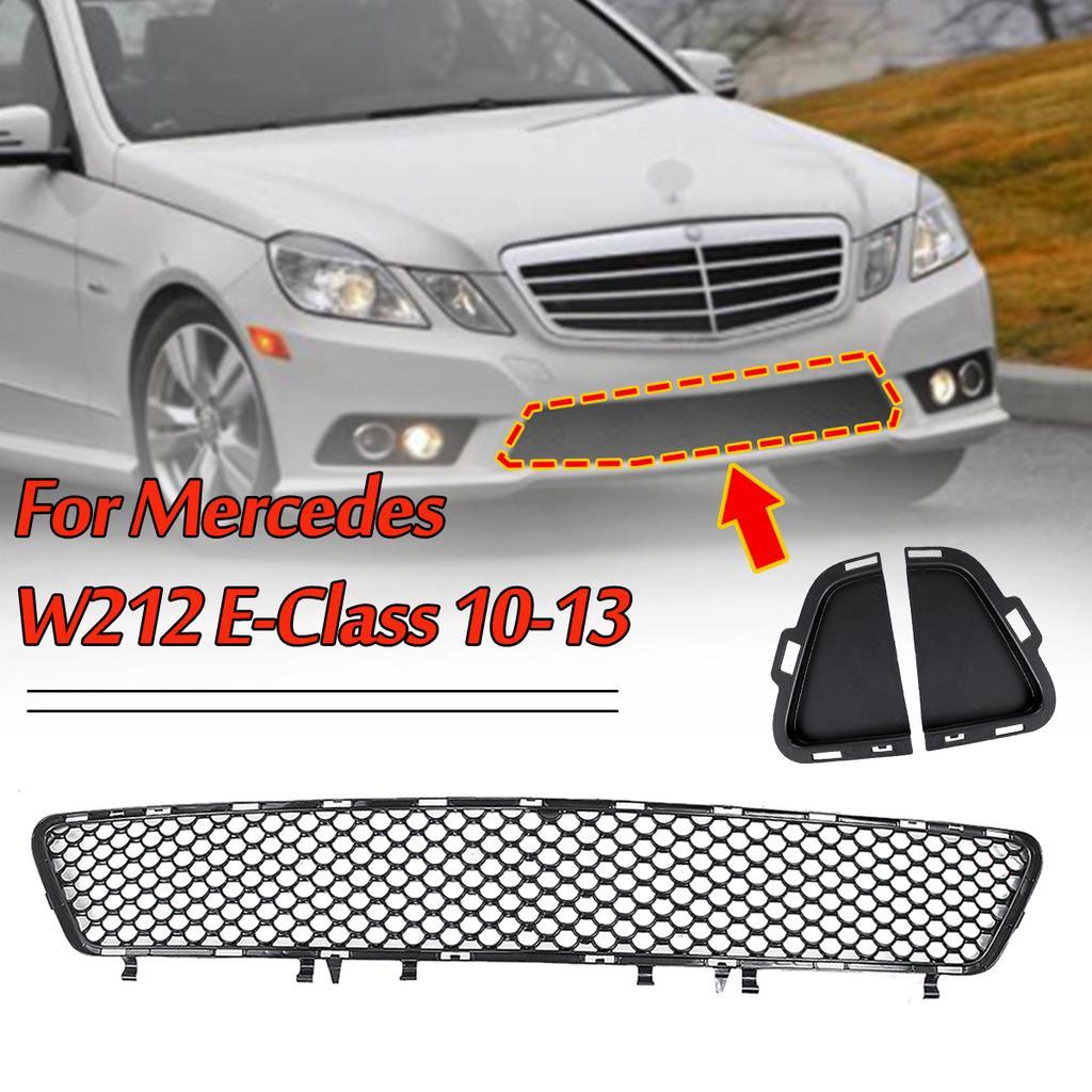 Left Side Front Bumper Grill Mesh Cover For Mercedes E-class W211 E320 E350 E500