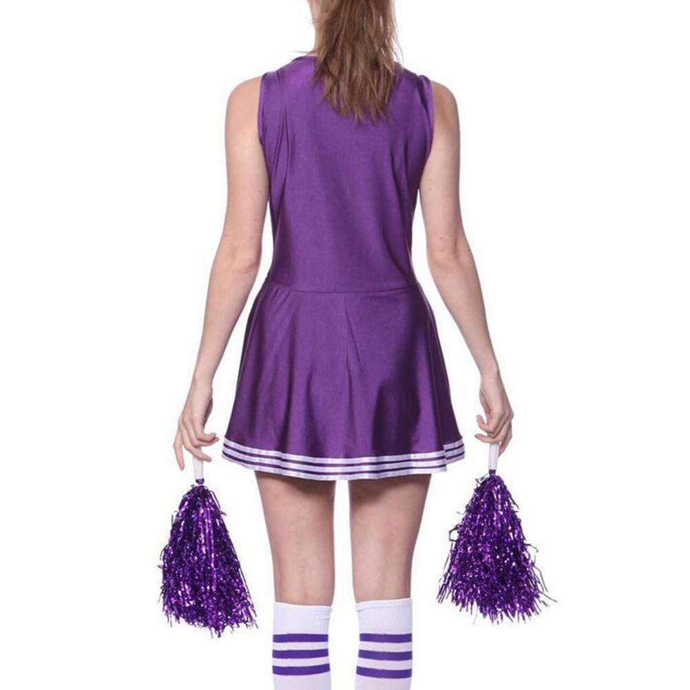 Escuela animadora niña disfraces partido uniforme traje deportivo ...