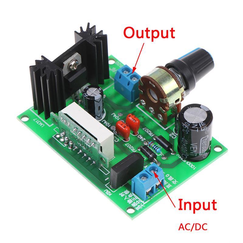 LED display LM317 Adjustable Voltage Regulator Step-down module AC//DC KYMFS