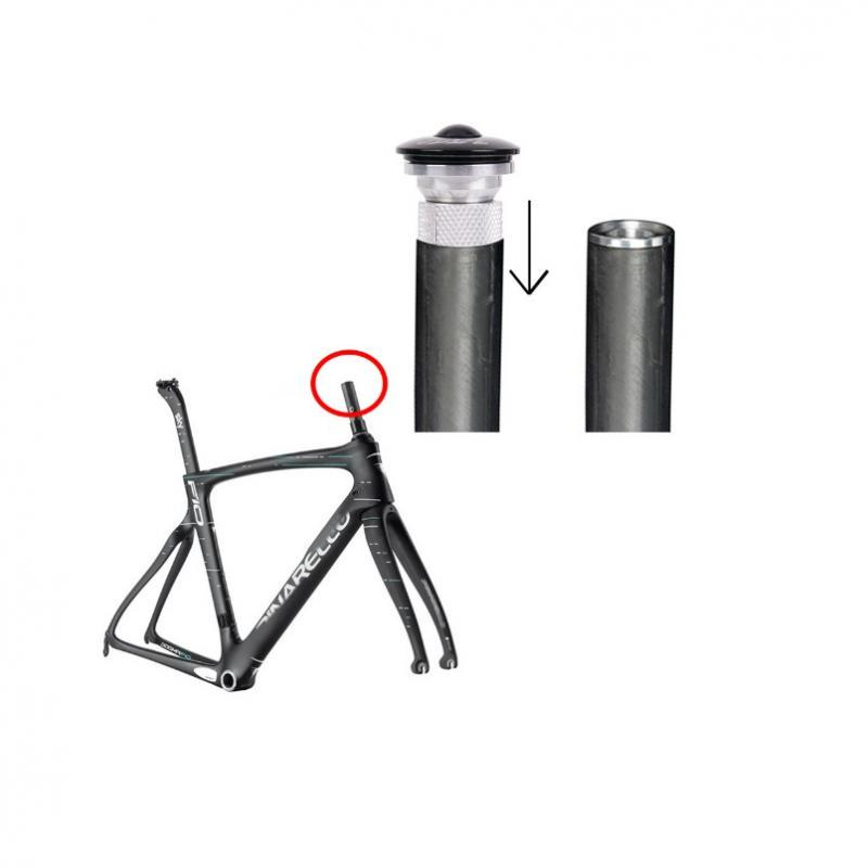 For 1-1//8 Fork MTB Road Bike Headset Cap Cover Top Star Nut Expander Plug New