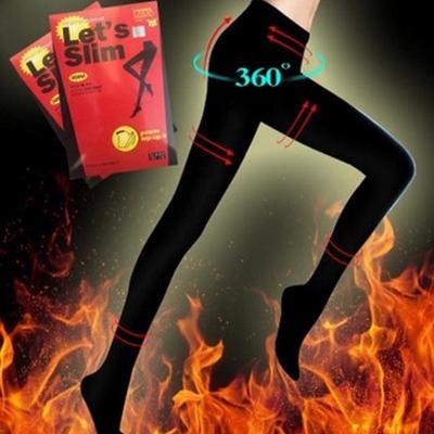 Pantyhose Stocking Women Slim Beauty Leg Compression Burn Fat Thin Chunmei1