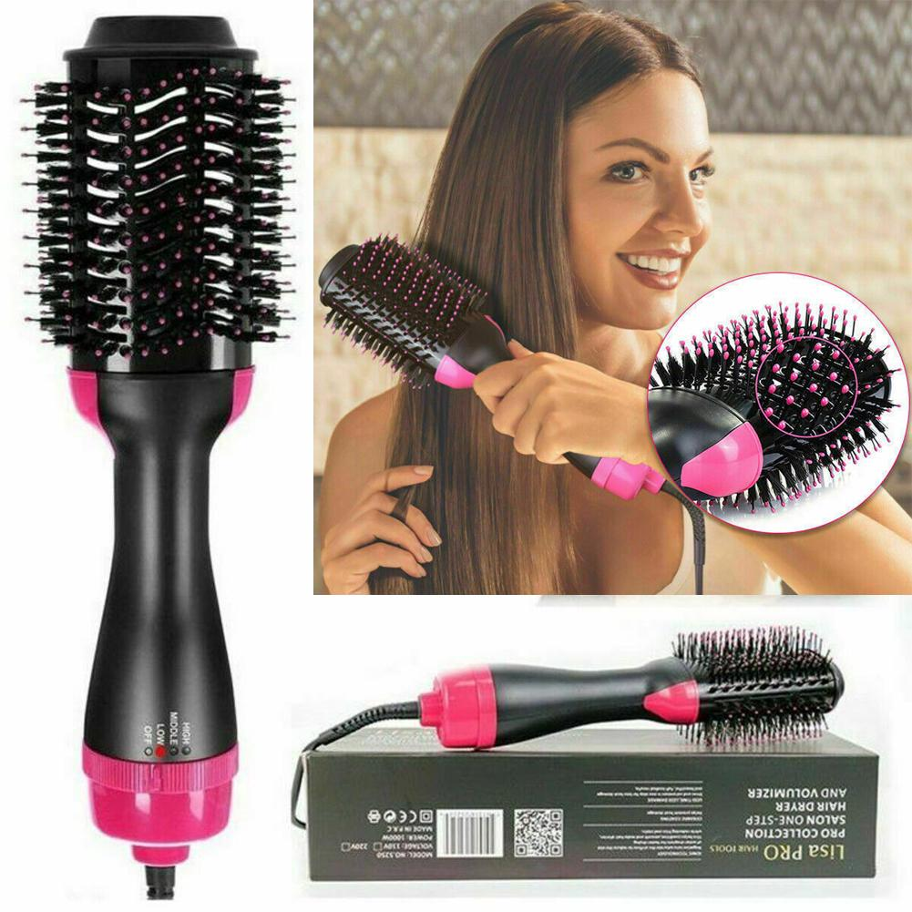2 In 1 One Step Hair Dryer and Volumizer Brush Straightening Curling Iron  Comb Salon Anti-scalding Hair Curler-buy at a low prices on Joom e-commerce  platform