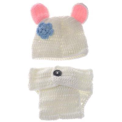 Neugeborenes Baby Handgestrickte Mädchen Jungen Wolle Beanie Mütze
