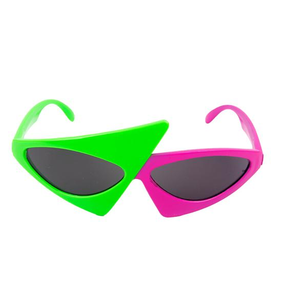 96195e55d9 Cool Novelty Glasses Green Pink Contrast Funny Roy Purdy Glasses Hip-Hop  Asymmetric Sunglasses Gifts-buy at a low prices on Joom e-commerce platform