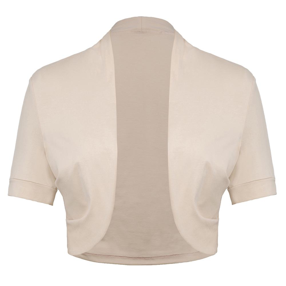 Buty Belle Poque Casaco chaqueta manga corta encogiéndose de hombros ...