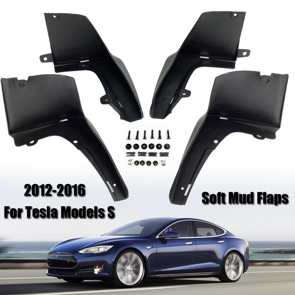 2014-2019 New Car Mud Flaps Splash Guard Fender Mudguard For Tesla Model X S