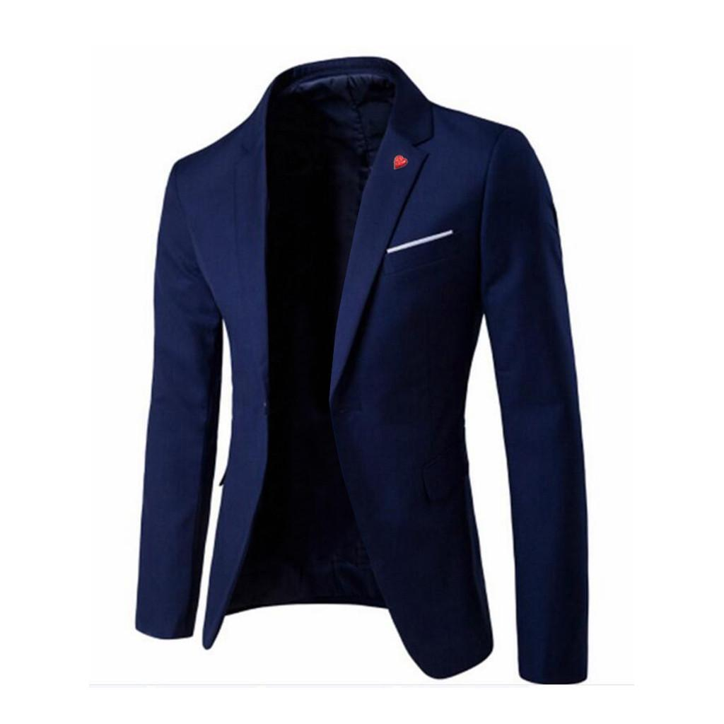 NEW Men/'s Stylish Coat Blazer Business Wedding Party Outwear Coat Suit Tops US