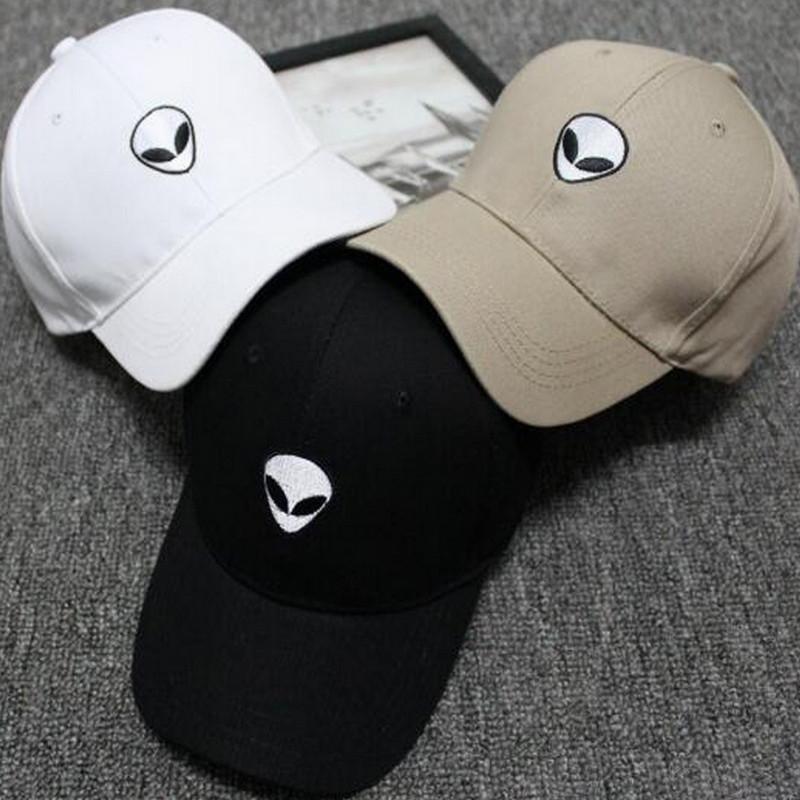 8c85aed66940cb Men Women Alien Embroidery Baseball Cap Hip-hop Caps Outdoor Casual Couple  Hat