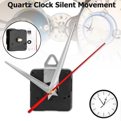 Plastic Quartz Silent Wall Clock Movement Mechanism Hands Repair Tool Parts Kit DIY Kit Hour Minute Home