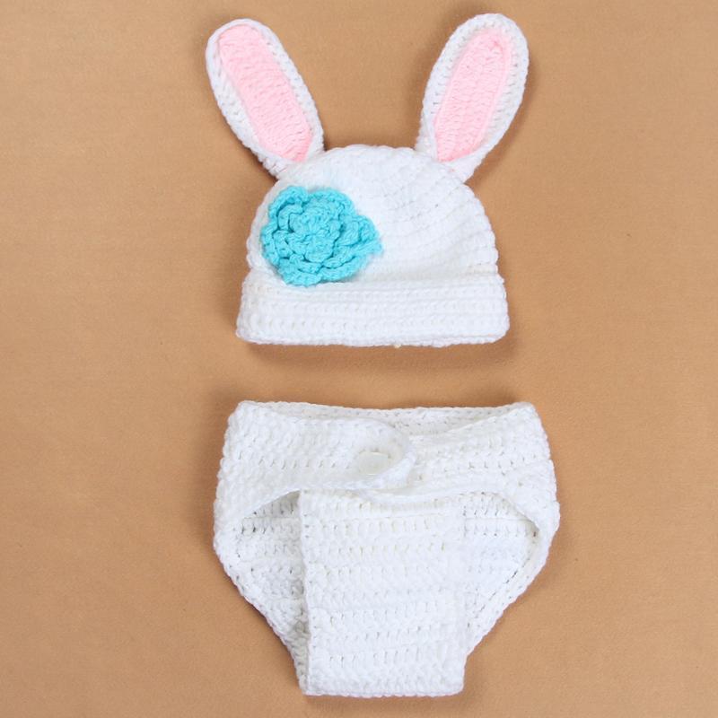 Heißen Tiere Baby Hasen Kostüm Baby Fotografie Prop häkeln – günstig ...
