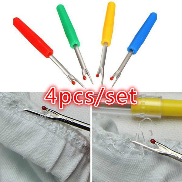 4pcs иглы вязания крючком DIY ремесло спицами шитье фото