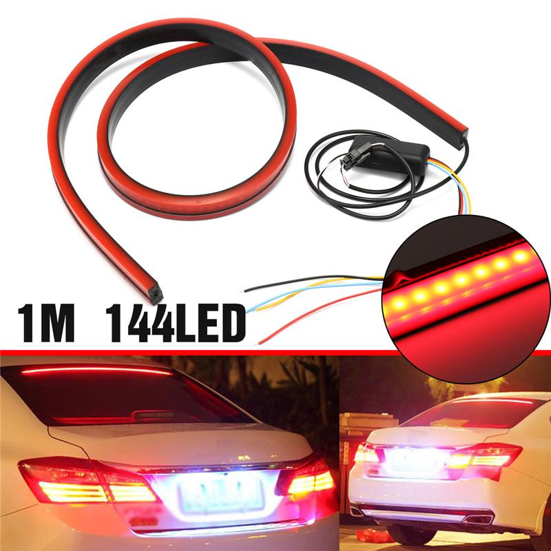 Universal Car 14 LED Red 12V Car Auto Third High-Mount Brake Strip Light Lamp AP