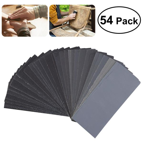 UEETEK 2 Inch Sanding Discs with M6 Backer Plate PSA Sandpaper Hook and Loop Pads Self Stick Polishing Pad