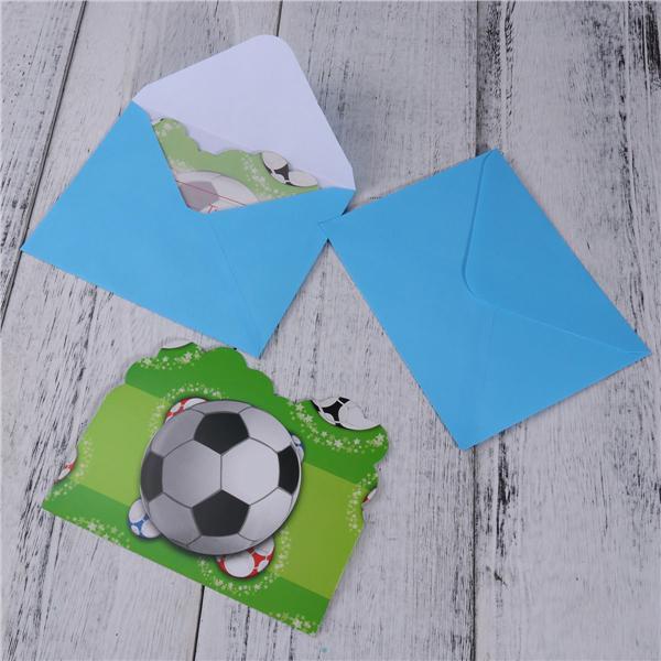 10PCS Licorne invitations cartes avec enveloppes Filles Enfants Fête D/'Anniversaire Fournitures
