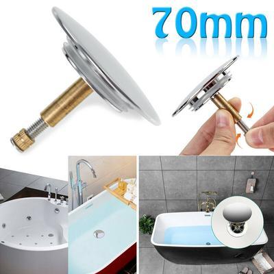 Rubber Drain Plug Sink Bathtub Stopper Kitchen Washroom Bathroom Basin Cover~e