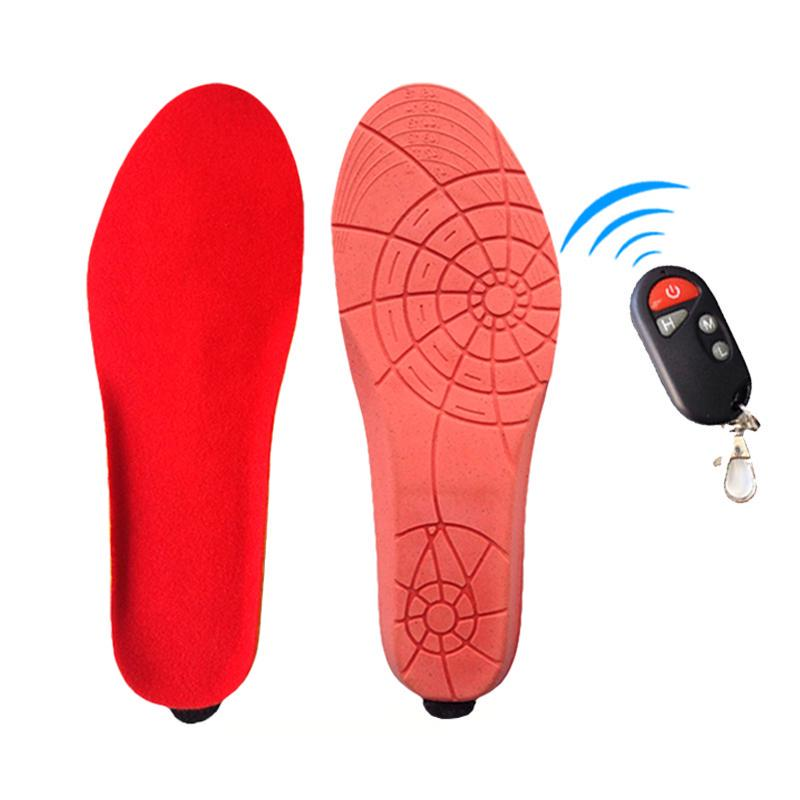USB Insoles Rechargeable Washable to Cut for Men and Women EU 35-40 Electric Heated Insoles Heated Insoles Rechargeable Heated Insole
