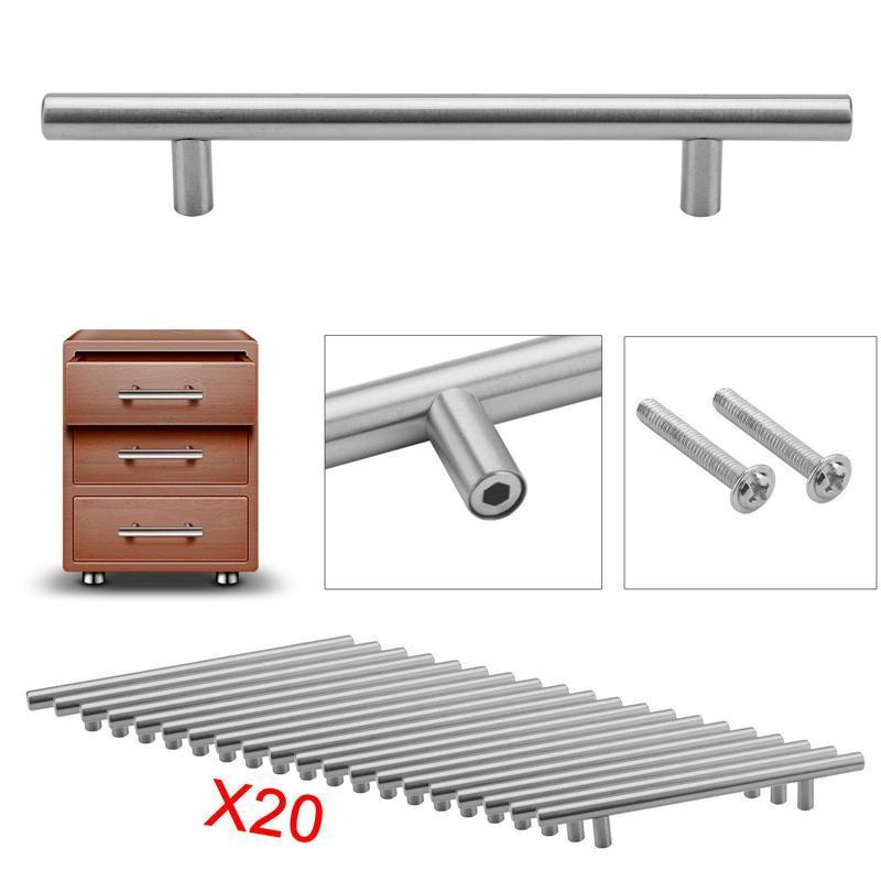 20pcs Kabinett zieht Werkzeug Griffe Schrank Hardware Schublade ...