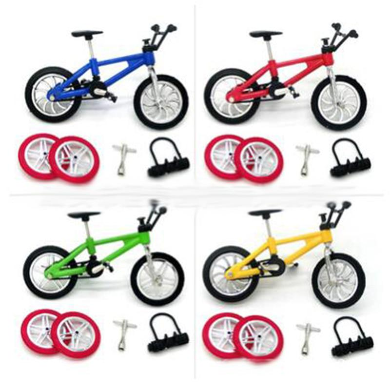 Mini Finger Retro Alloy BMX Bicycle Model Simulation Bike Cycling Toys Kids Gift