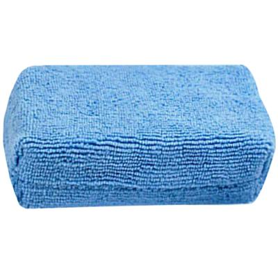 Blue Microfiber Towel Cleaning Cloths Absorbent Wash Anti-Scratch Car Detailing