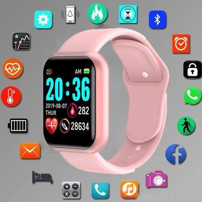 Bluetooth Women Sport Smartwatch Men Waterproof Smart Watch Heart Rate Monitor Smart Android