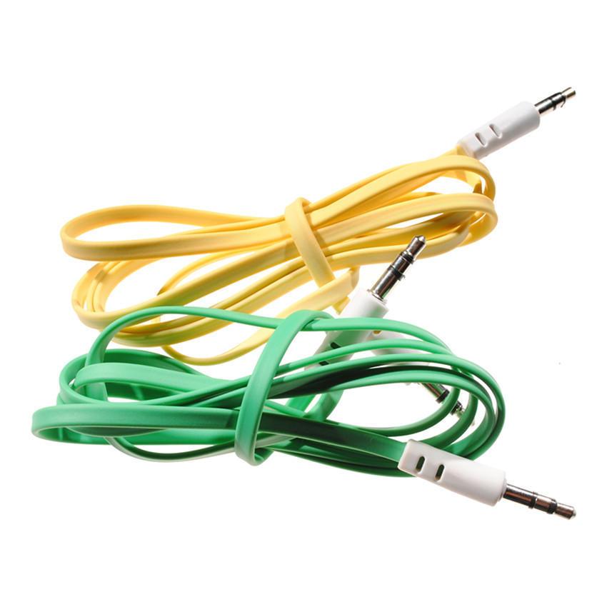 Aux-Kabel 3,5 mm Audio-Eingang Kabel Stecker-Stecker für PC-MP3 ...