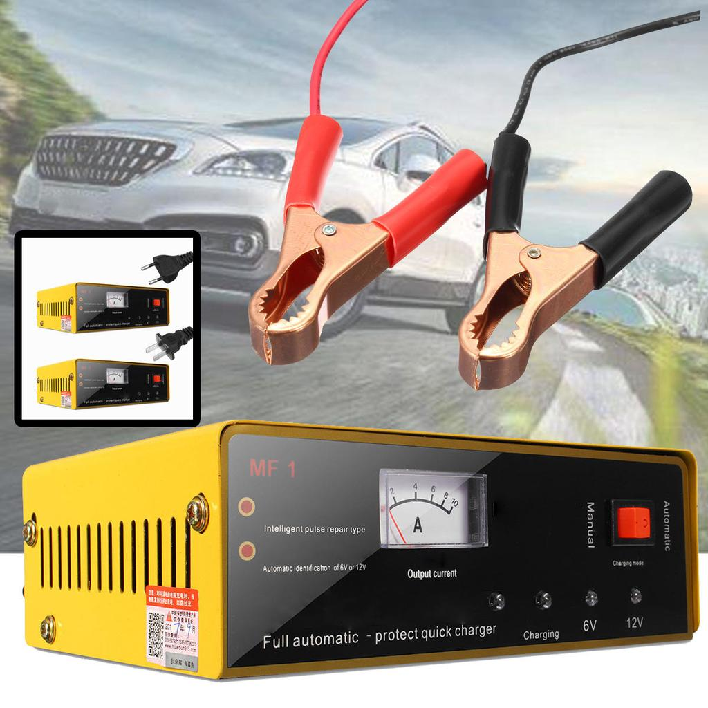 120w 6v 12v 80ah Auto Car Motorcycle Charger Pulse Repair For Lead Battery Circuit Constant Current 1 Of 9