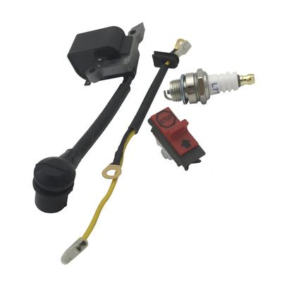 Ignition Coil, Spark Plug, Stop Switch for Husqvarna 136 137 141 23 235 240
