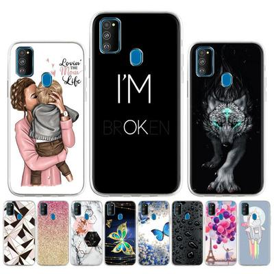 Soft Painted Case For Samsung Galaxy M21 Case For Samsung Galaxy M30s SM-M307FN/DS SM-M307F/DS Multi-style Patterns Back Cover