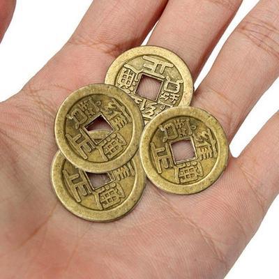 5pcs Glück Chinesische Münze Oriental Kaiser Geld Günstig Im