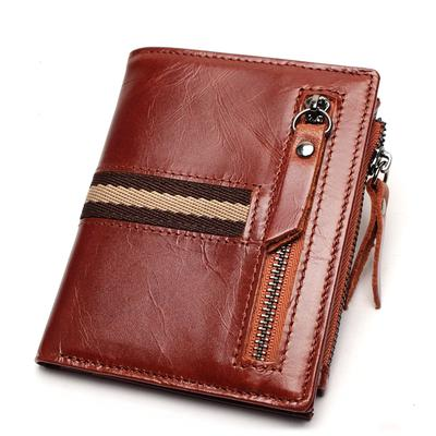 Mens Belt Purse Genuine Leather Multifunction Wallet Travel Passport Wallet