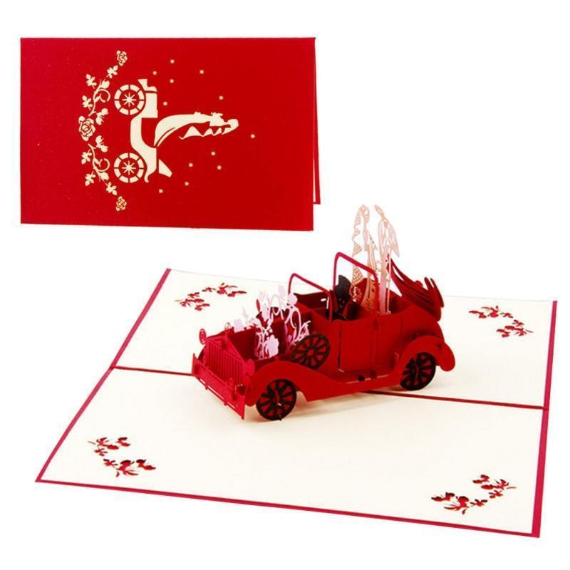 3D Pop Up Cartes de vœux Ballon Children/'s Day Anniversaire Félicitations Merci