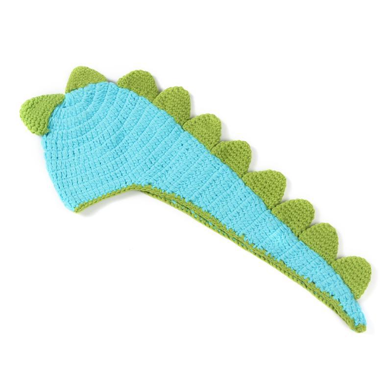 Dinosaurio recién nacido patrón ganchillo bebé sombrero hecho punto ...