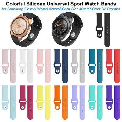 Silicone Sport Watch Band Wristband
