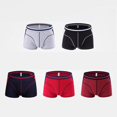 68f5456a7d4c Ropa interior algodón Boxer calzoncillos cortos deportes suave ropa interior  bragas