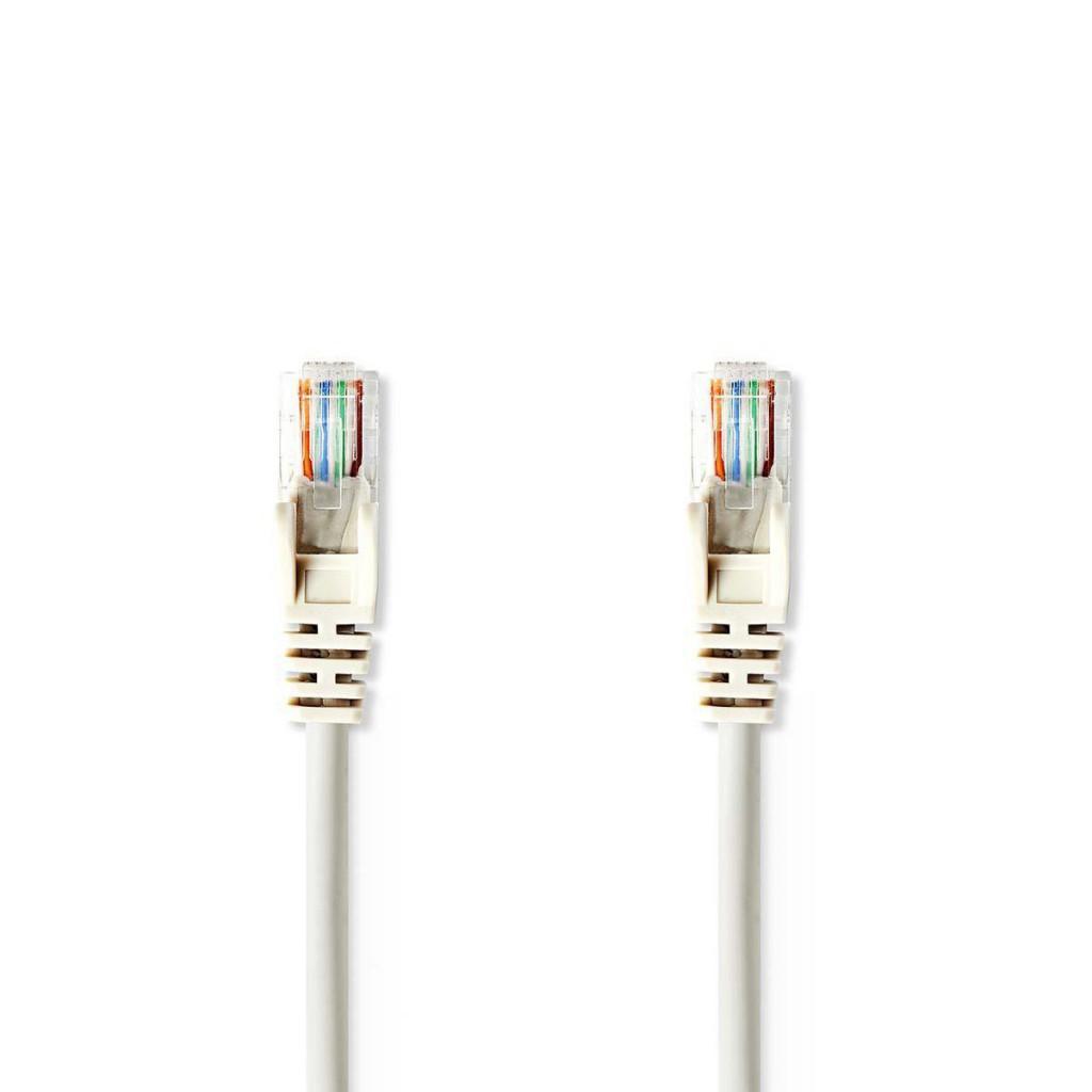 Grey Nedis Cat 5e F//UTP Network Cable 5.0 m RJ45 Male RJ45 Male