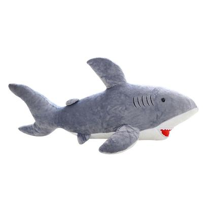 Great White Shark Toddler Grey Cuddly Plush Fish Halloween Costume-L