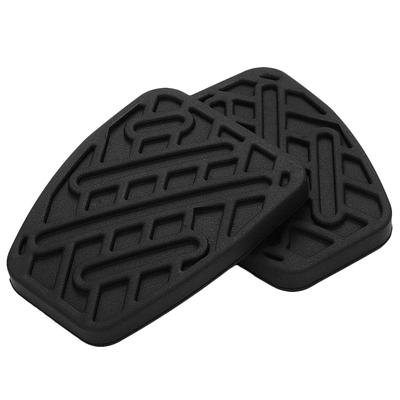 MAZDA 323 BRAKE AND CLUTCH PEDAL PAD RUBBER PAIR