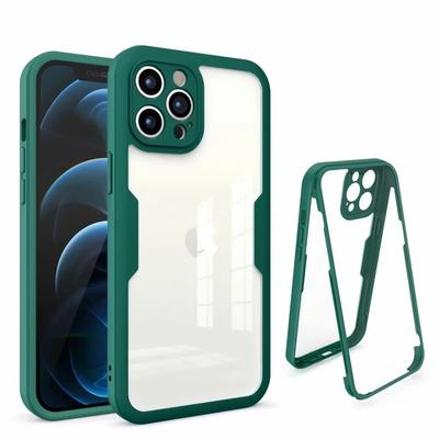 Luxury 360 Full Protective Phone Case For Xiaomi Mi 11 Lite Redmi Note 10 Pro 10S Poco X3 NFC Samsung A22 A02 A12 A32 A52 A72 A21S Shockproof Armor